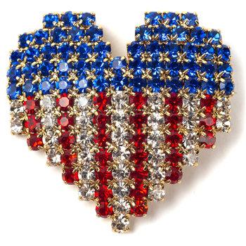 Sale sale-Patriot's Heart Pin