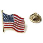 Americana US Flag Enamel Pin