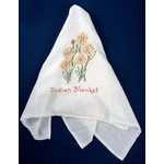 Austin & Texas Indian Blanket Embroidered Tea Towel