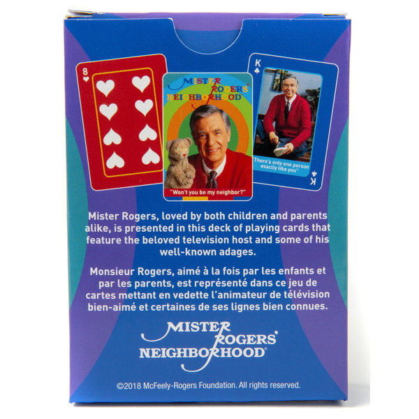 Americana Mister Rogers Playing Cards