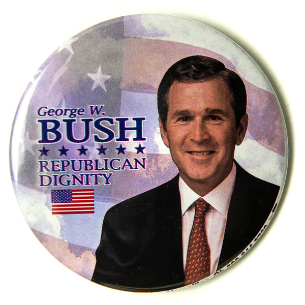 George W. Bush Republican Dignity Button