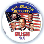 "Bush 88 Republican Integrity - Large 3.5"""
