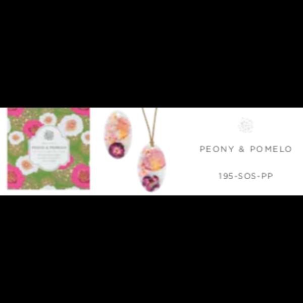 Sale sale-Peony & Pomelo Oval Wax Sachet s/2