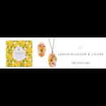 Sale sale-Lemon Blossom & Lychee Oval Wax Sachet s/2