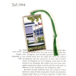 All the Way with LBJ LBJ Library Metal Bookmark/Ornament