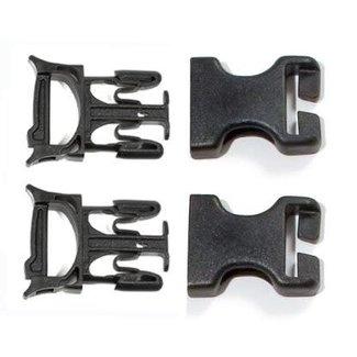 Ortlieb Ortlieb Buckle Stealth Repair Buckle (male/female) 4 pieces