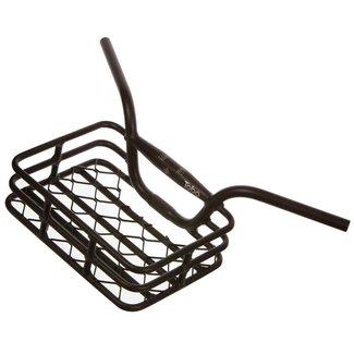 EVO Brooklyn Integrated Basket/Handlebar, Clamp size 31.8 or 25.4mm Black