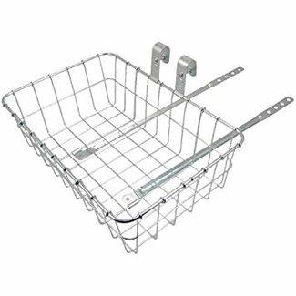 Wald 137 STD Small Basket (25.4 Stem Clamp only) 15x10x5 Chrome