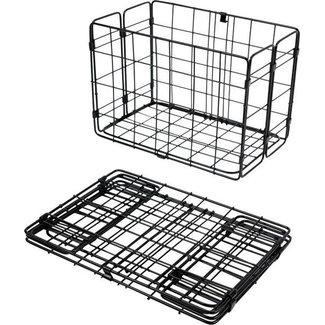 Wald Folding Side Basket  582BL black