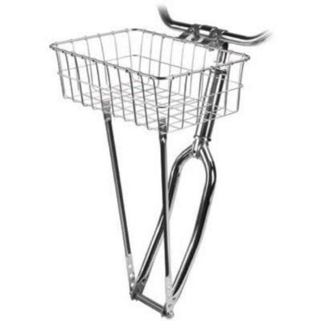 Wald Front Basket 139 Silver 18x13x6