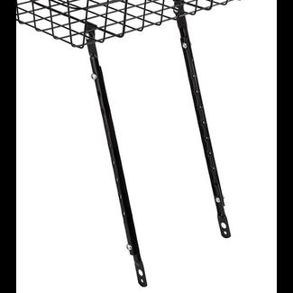 Wald Adjustable Front Basket Stays Black