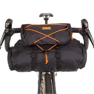 Restrap Restrap Bar Bag Black/Orange 17L Black