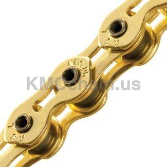 KMC KMC Chain K1SL Ti SuperLite KoolChain 1/8'' Gold