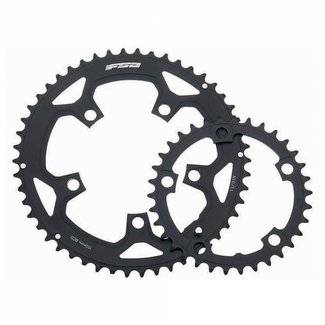 FSA 110BCD 50T (use w/34t) Pro Road Chainring N-10 Black 10-speed or 11-speed