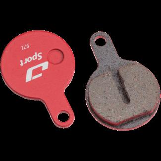 Jagwire Disc Brake Pads - Tektro Lyra, IOX, Novela Brakes - Semi-Metallic