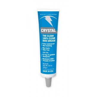 White Lightning Crystal Clear Grease, 3.5oz