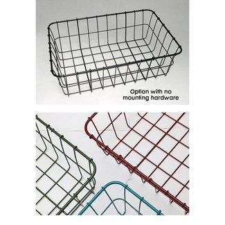 Wald Front Basket 137 No Hardware Black