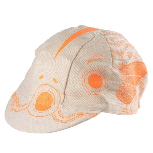 SimWorks SimWorks Koinobori Cycling Cap Orange/Natural