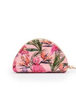 CONSUELA Brynn Flamingo Large Cosmetic Bag