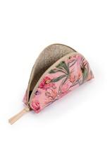 CONSUELA Brynn Flamingo Large Cosmetic Bag