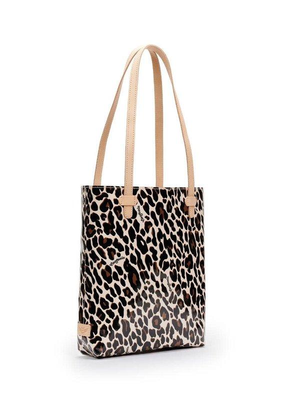 CONSUELA Mona Brown Leopard Everyday Tote