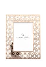 KENDRA SCOTT 4x6 Filigree Photo Frame