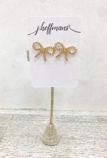 j.hoffman's Bowtie Stud Earrings