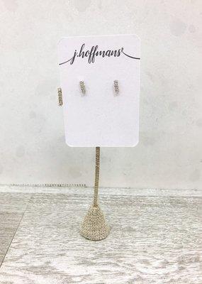 j.hoffman's Crystal Mini Stud