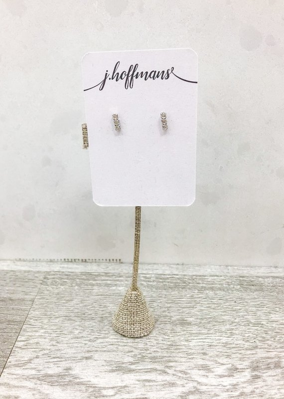 Hookedwebdesign Crystal Mini Stud