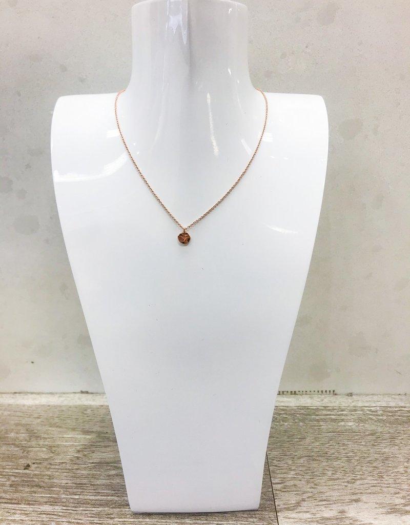GORJANA Micro Disc Necklace