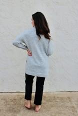KERISMA Avena Heather Knit Tunic  Sweater