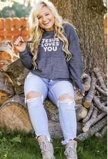 JADELYNN BROOKE Jesus Loves You Sweatshirt