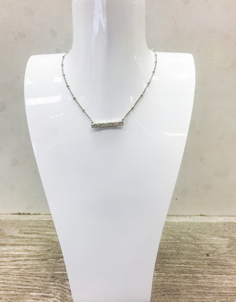 LOREN HOPE June Bar Necklace