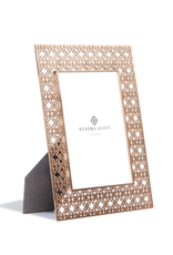 KENDRA SCOTT 5x7 Filigree Photo Frame