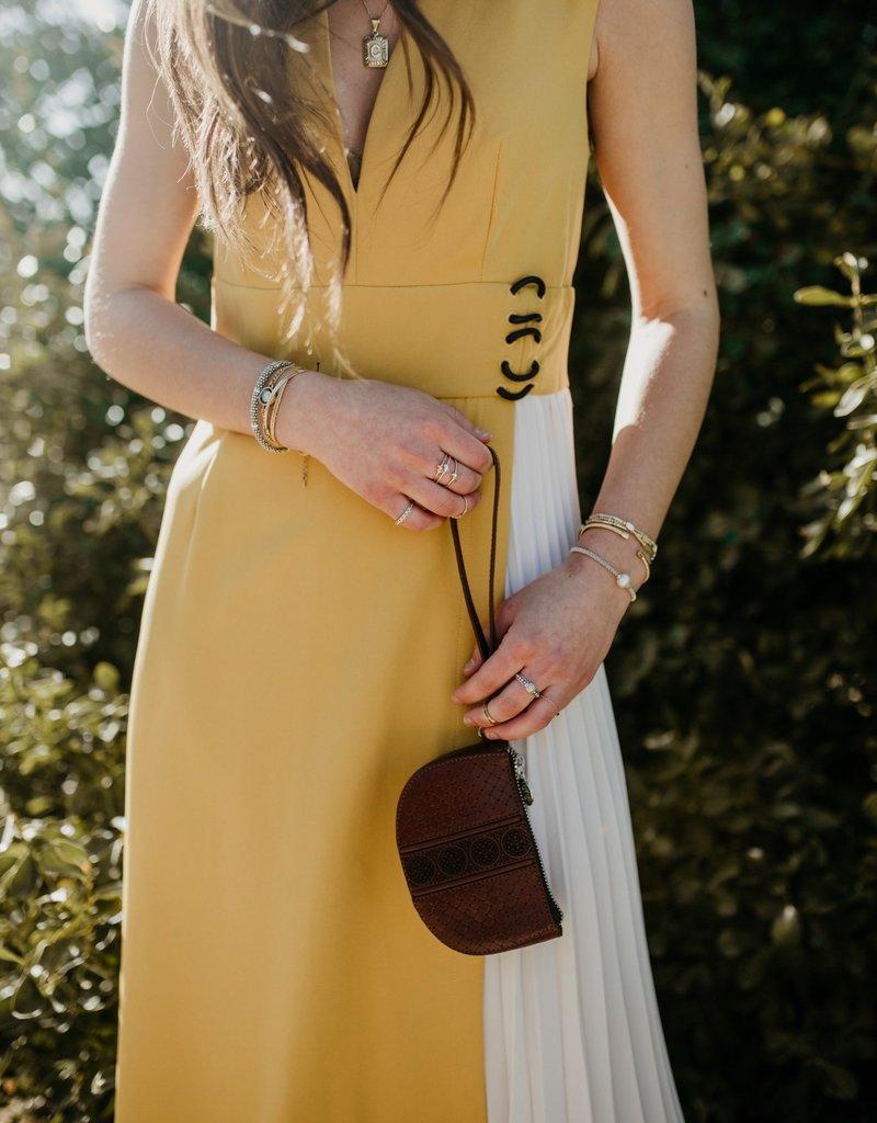 BENEDETTO Elizabeth Pleated Dress