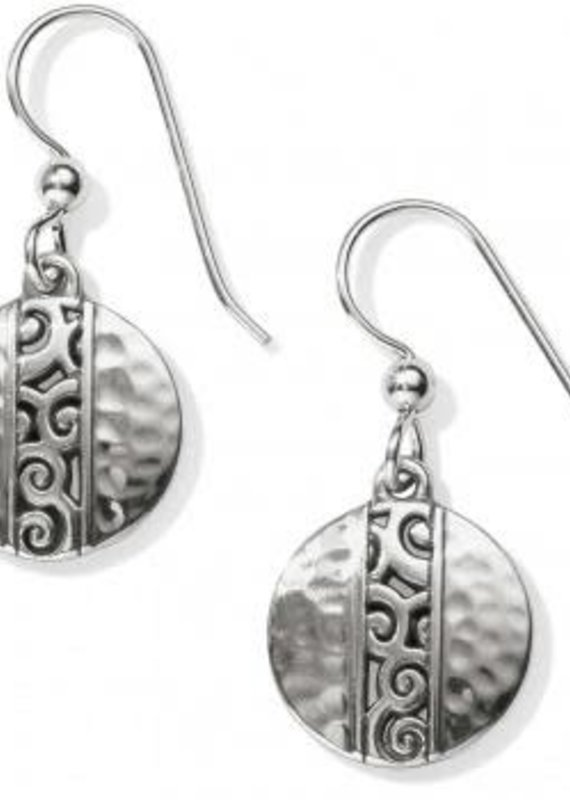 Mingle Small Disc French Wire Earrings