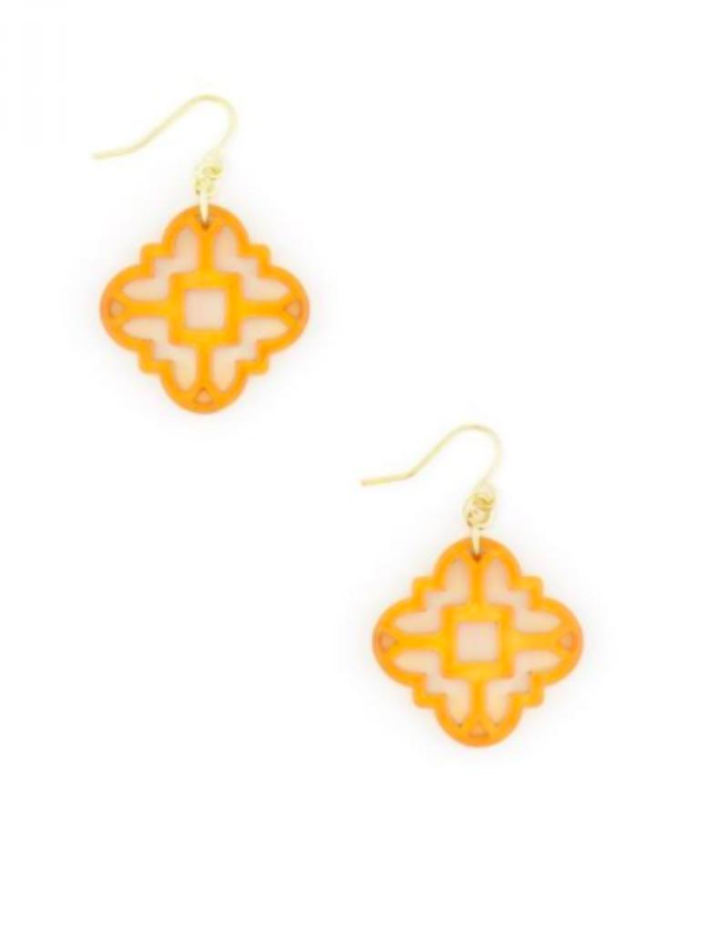 ZENZII Modern Mosaic Earrings