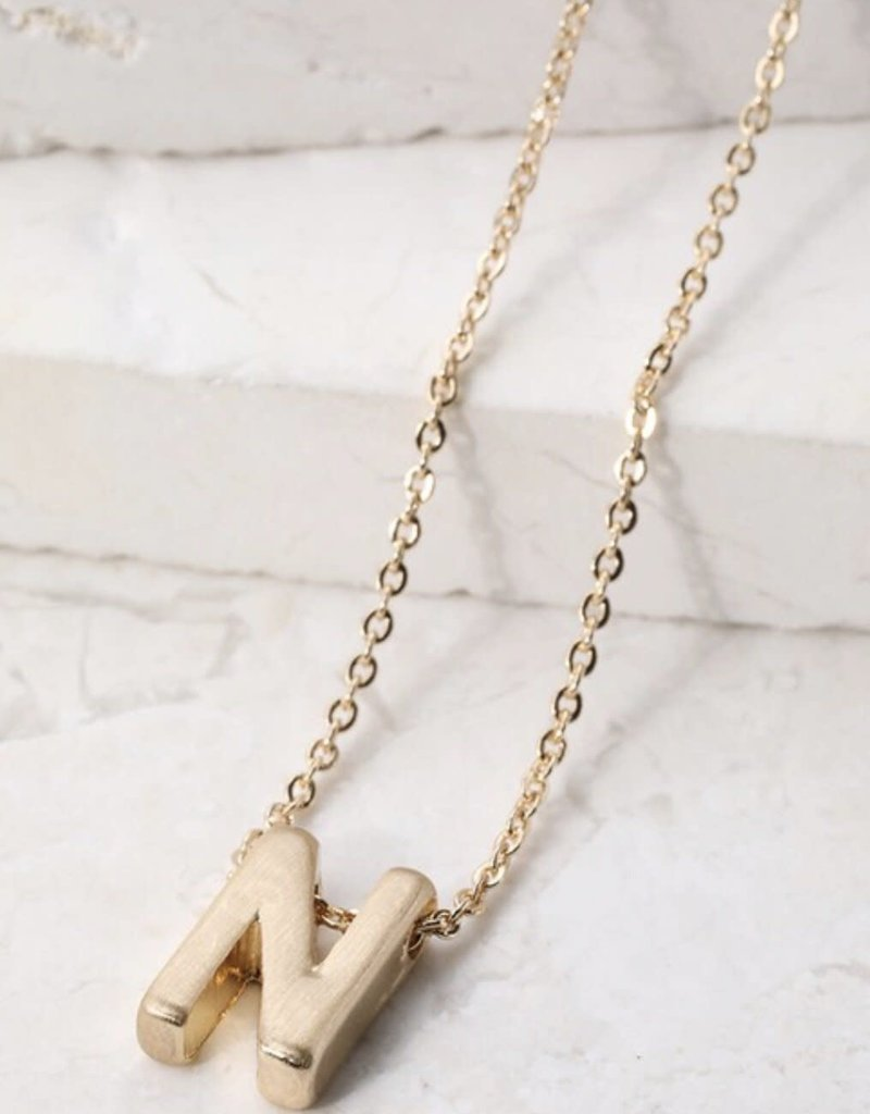 URBANISTA Name It Initial Charm Necklace