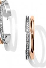 Neptune's Rings Duo Large Hoop Earrings