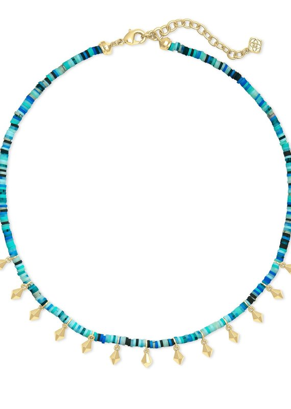 KENDRA SCOTT Reece Gold Choker Necklace