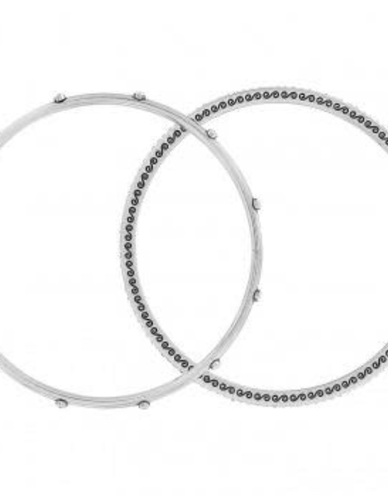 Neptune's Rings Pave Bangle Sets