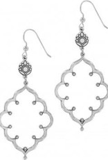 Journey To India Lotus French Wire Earrings