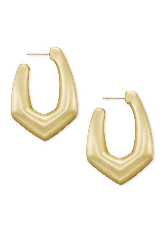 KENDRA SCOTT Kaia Hoop Earrings