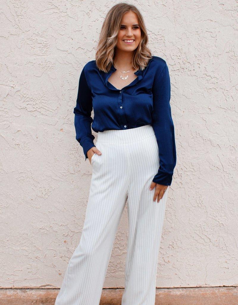 BENEDETTO Kayla Striped Pants