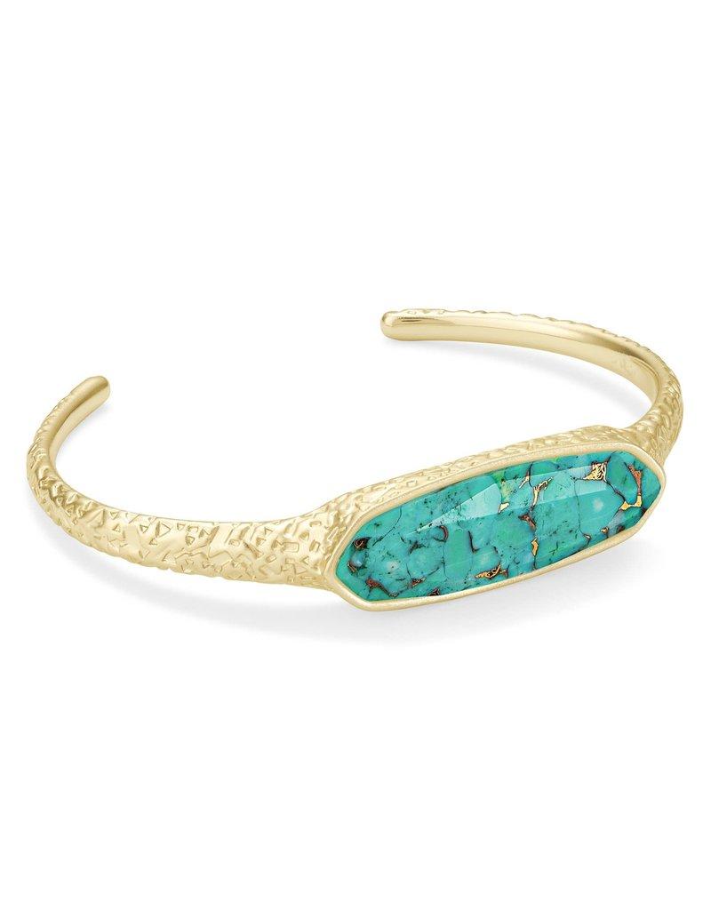 KENDRA SCOTT Layla Gold Cuff Bracelet