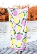 JADELYNN BROOKE Life Gives You Lemons Beach Towel