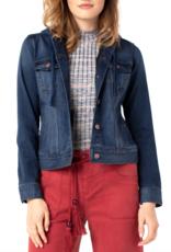 LIVERPOOL Lisa Hooded Denim Jacket