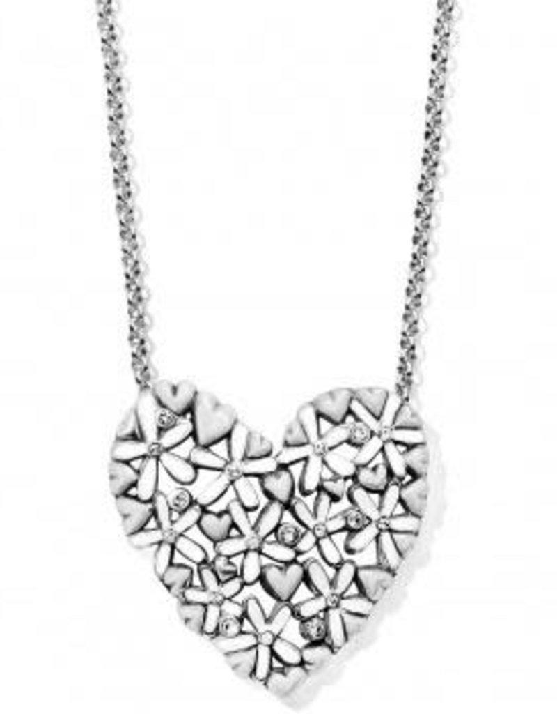 Love Bouquet Heart Necklace