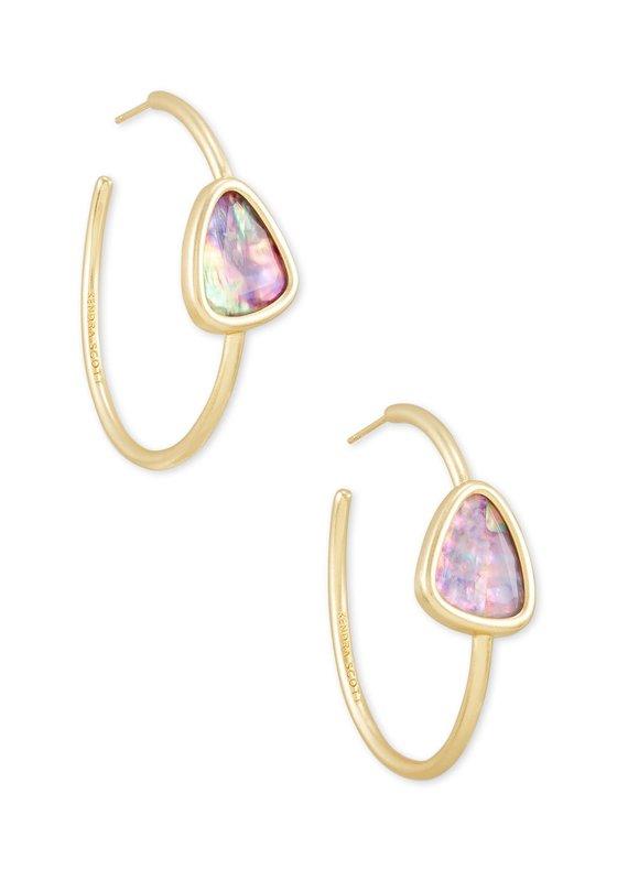 KENDRA SCOTT Margot Gold Hoop Earrings