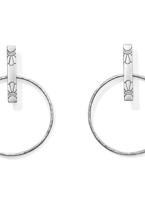 Marrakesh Soleil Post Hoop Earrings